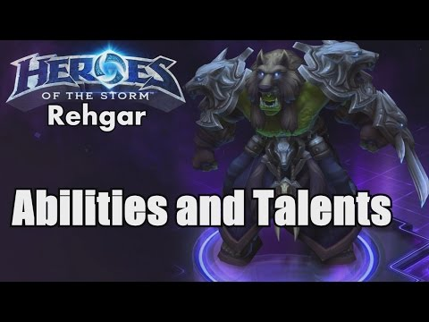 Heroes of the Storm: Reghar Abilities and Talents