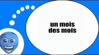 Французского видео урок = Форма множественного числа = S=