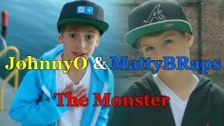 JohnnyOsings & MattyBRaps - The Monster (cover Eminem Ft. Rihanna) (2013)