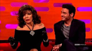 "Joan Collins Learned Why Frank Sinatra Was ""Chairman of the Board"" - The Graham Norton Show"