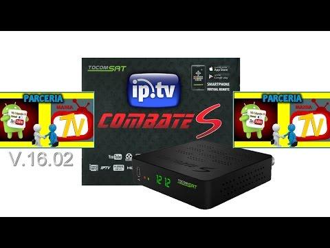 TOCOMSAT COMBATE S - LISTA IPTV DUBLADOS E LEGENDADOS - 18/09/2016