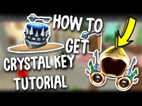 ROBLOX HOW TO GET THE CRYSTAL KEY! (Golden Dominus - Tutorial)