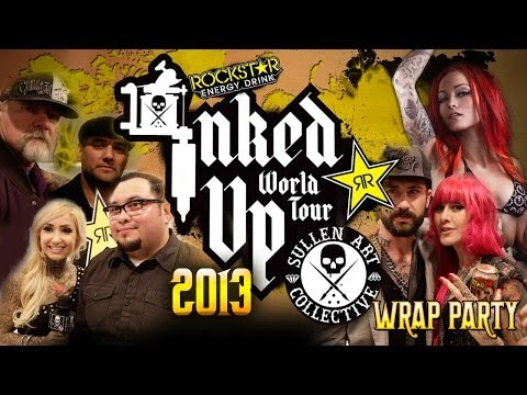 Rockstar Inked Up World Tour Wrap Party