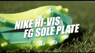 Nike Hi-Vis sole plates: Firm Ground