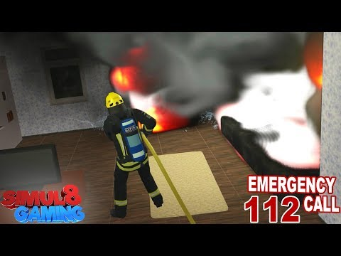 HOUSE FIRE! - Emergency Call 112: Firefighting Simulation - Ep.4 (English)