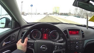 2013 Opel Insignia 2.0 Turbo 249hp At Pov Test Drive