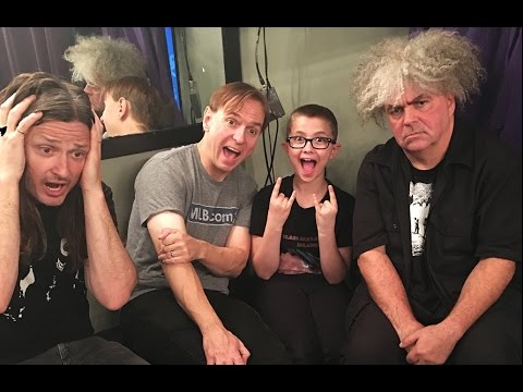 MELVINS interview with Elliott: They will be in a cartoon! And much more fun stuff