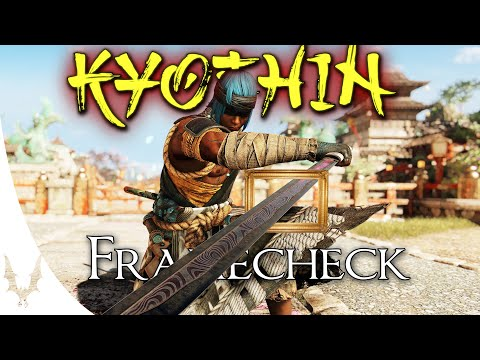 For Honor - EARLY ACCESS - KYOSHIN Framecheck + General Tips & Tricks