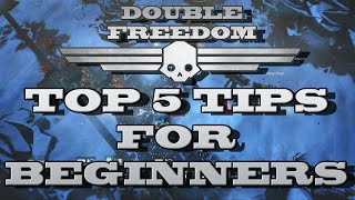 DOUBLE FREEDOM! - Top 5 Tips and Tricks For Beginners (Helldivers PS4 Gameplay)