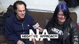 NEGATIVE APPROACH - Detroit Hardcore - Interview & Live (1/2) - Punks News For Punx! - MPRV News