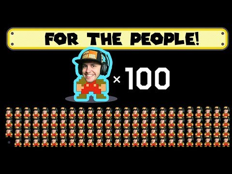 Hot Garbage FOR THE PEOPLE! 100 Man Super Expert Mario Maker