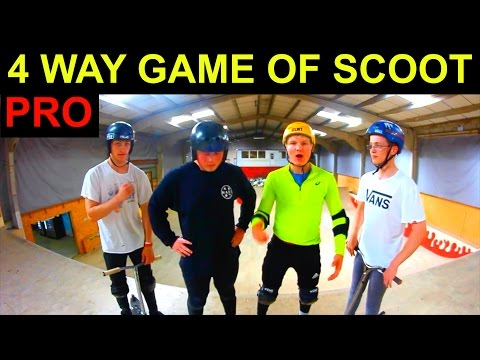 4 WAY PRO GAME OF SCOOT !!! CORBY RESI BOX 2016 !!!