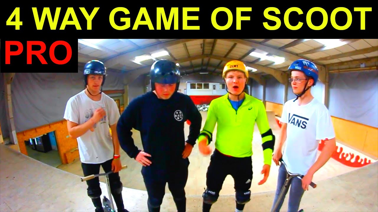 4 Way Pro Game Of Scoot Corby Resi Box 2016 Youtube