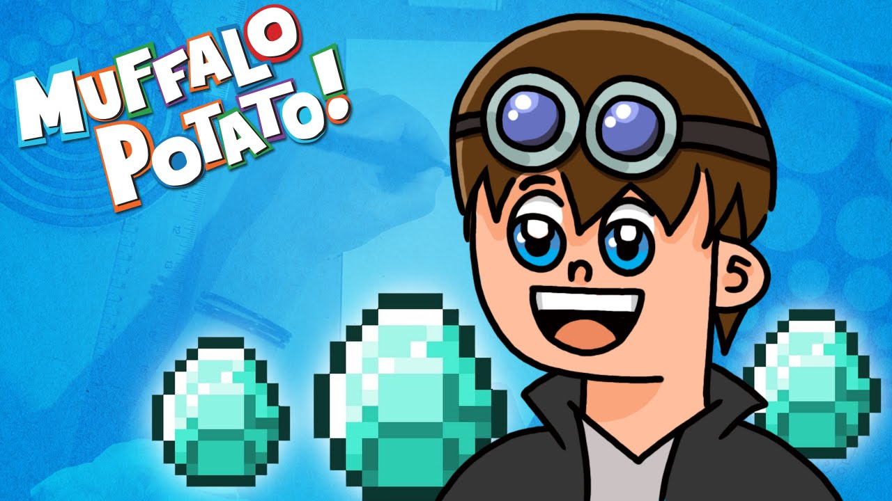 How to Draw DANTDM with Muffalo Potato - YouTube
