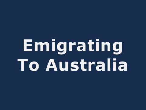 Emigrating To Australia - YouTube