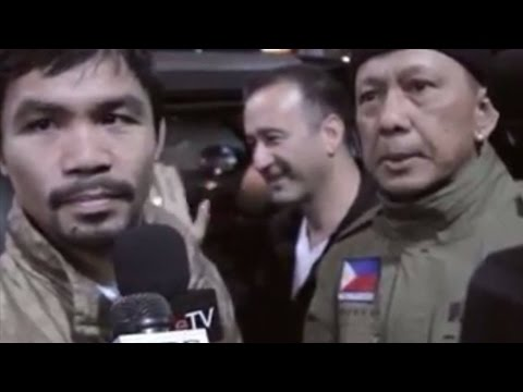 MAYWEATHER VS PACQUIAO ANNOUNCED **AUDIO** 1/14/15 BY MANNY INADVERTENTLY IN L.A.! CONTRACTS SIGNED!