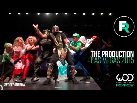 The Production | FRONTROW |  World of Dance Las Vegas 2015 | #WODVEGAS15
