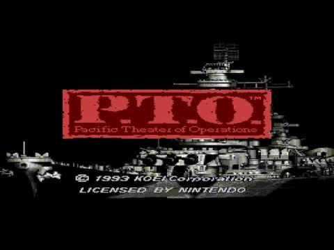 P.T.O. Pacific Theater Of Operations Intro