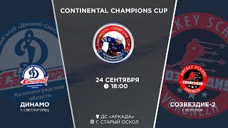 Динамо г. Калининград - Созвездие-2 г. Воронеж