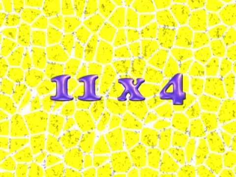 11 times trick for numbers greater than 9 multiplication math song
