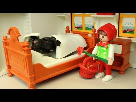 Rotkäppchen und der Wolf Playmobil Film seratus1 stop motion Chaperon Rouge