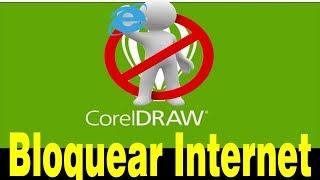 Corel Draw Bloquear a Internet e Evitar o modo de apenas edição