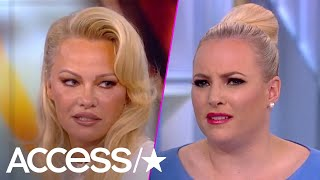 Meghan McCain Fiercely Confronts Pamela Anderson In Heated Debate On 'The View'