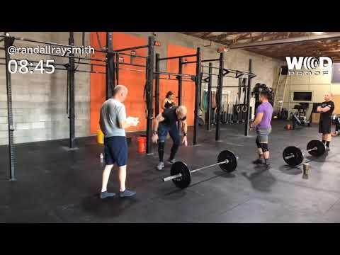 CrossFit Open 19.4 55-59 Rx