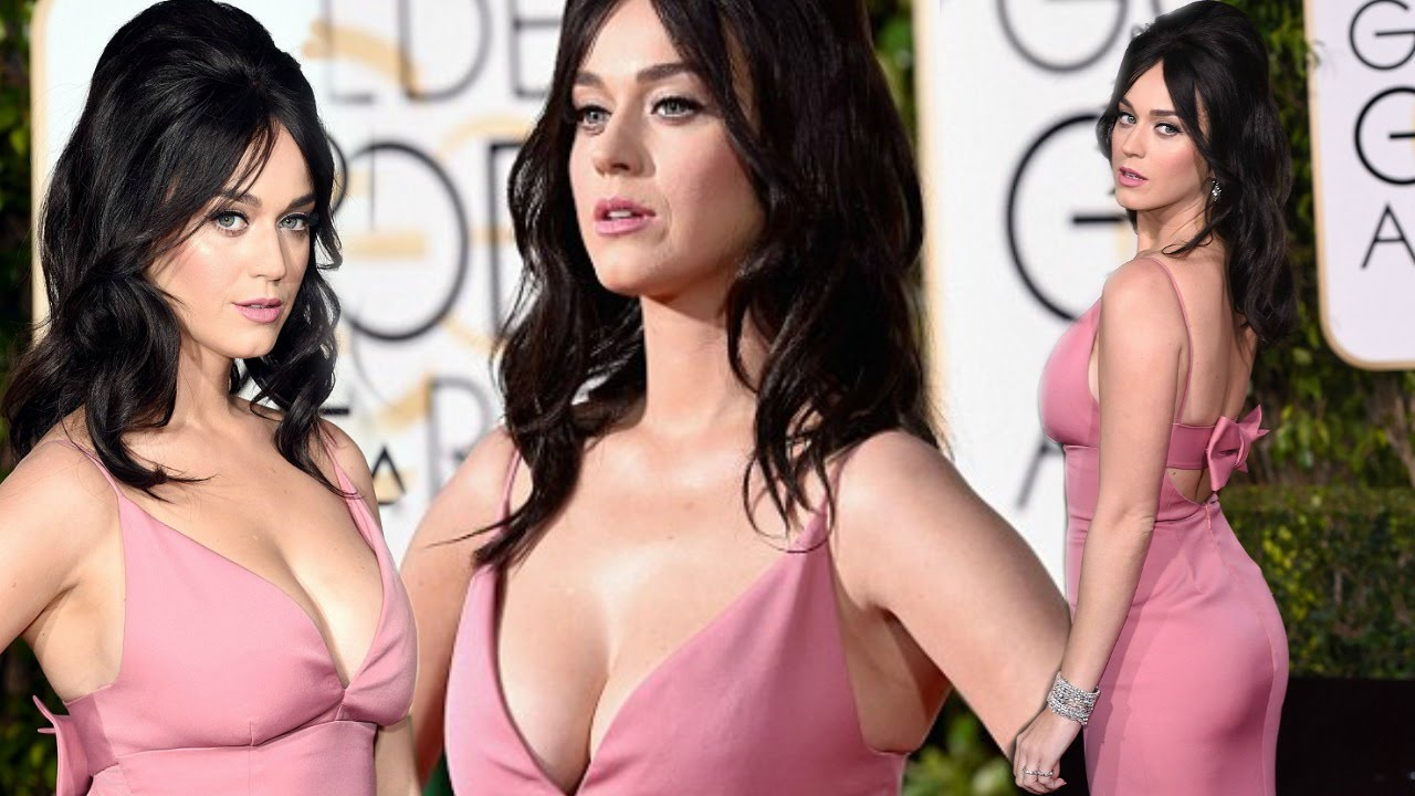Katy perry cleavage think