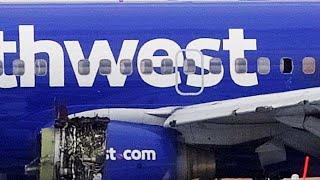 Muere una mujer después de ser absorbida por la ventana en un accidente de avión
