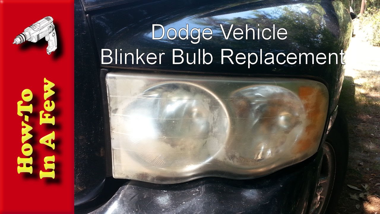 Howto Change The Blinker Side Marker Light On A Dodge Ram Youtube
