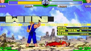 Street Fighter Alpha 3 - Vizzed.com GamePlay - User video