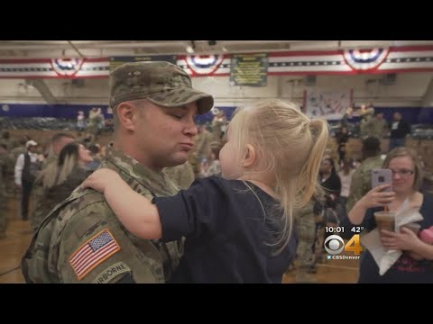 Emotional Return For Fort Carson Soldiers