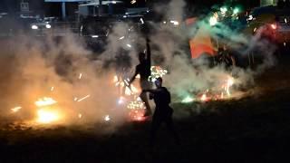 Огненное пиротехническое шоу  и салют Волга Вайбс