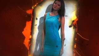 видео Голубое платье фото с чем носить