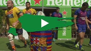 Liga Heineken J3 - Barça Rugbi v UE Santboiana