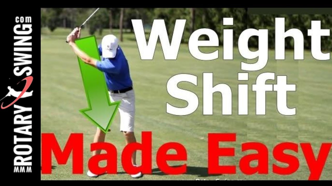 Golf Swing Lesson Weight Shift Transfer Made Easy