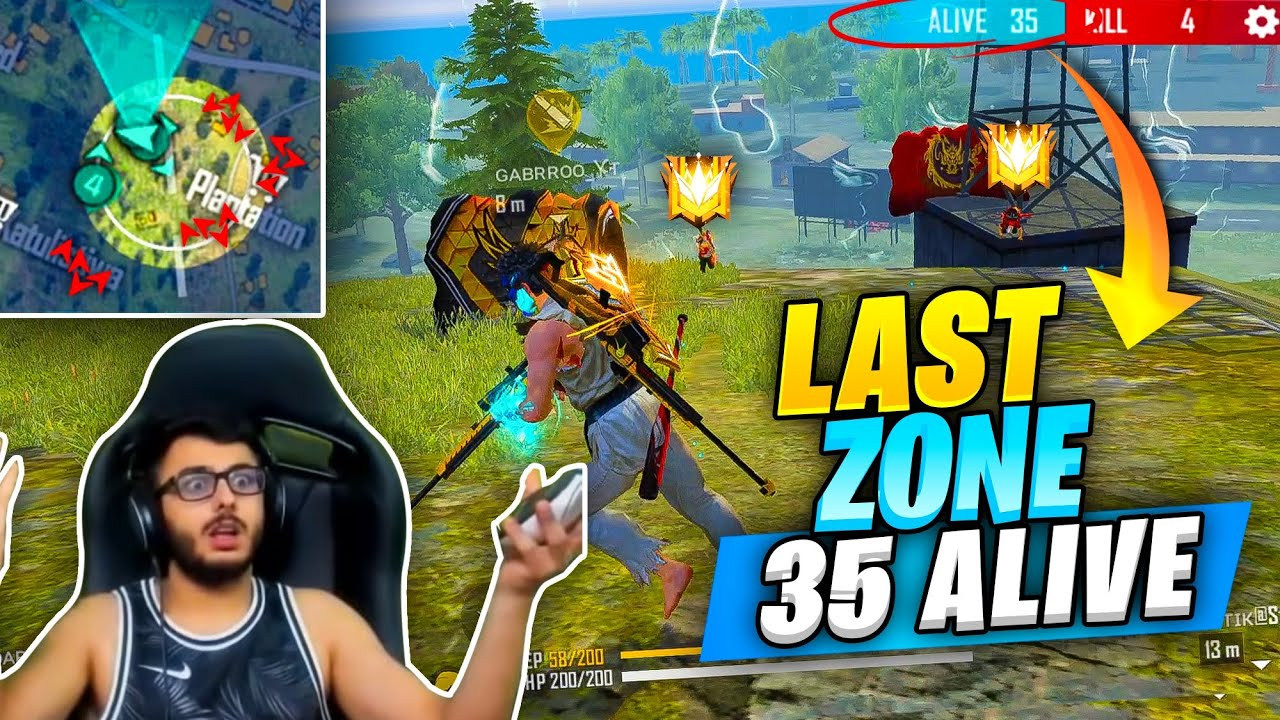 35 Alive in Last Circle of Grandmaster Pro Lobby - What Happened Next ? Garena Free fire