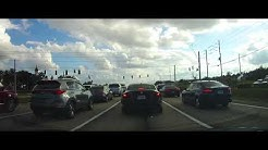 Driving from Haines City to Lake Wales, Florida