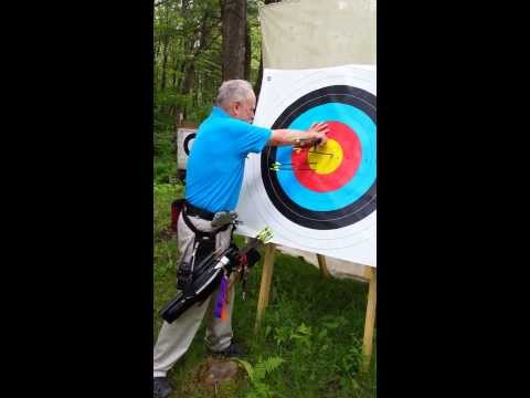 Dana White Shooting Archery ~ New Hampshire