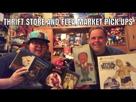 Thrift Store & Flea Market Pick Ups Nice Blu Ray Finds | Jerps93