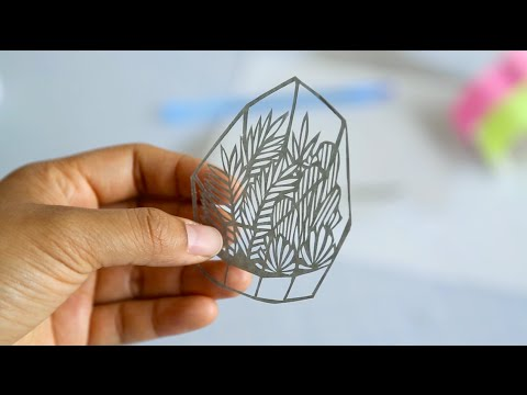 Turning Paper into Art Masterpieces with a Razor!