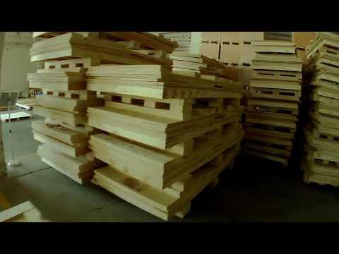 Opakownia Do Maszyn, Drewniane, Chinski Tartak. Chiny