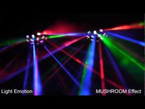 Classic Mushroom Disco Light Now LED