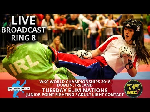 Ring 8 Tuesday | 2018 WKC World Championships In Dublin Ireland