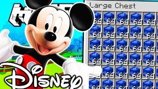 HOW TO BECOME THE RICHEST MINECRAFTER - DISNEY LUCKY BLOCK MONEY HUNT