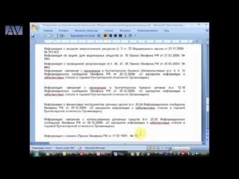 Годовой отчет 2015 г. Состав и порядок представления годовой бухгалтерской и налоговой отчетности