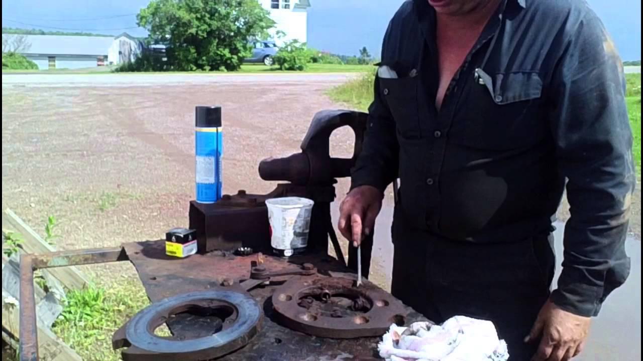 MF 165 Brake Repair  YouTube