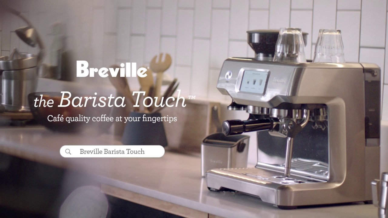 Breville Coffee Maker Water Not Going Out : Breville Barista Touch - See How it Stacks up Against Your Local - YouTube