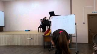 Мастер класс на фортепьяно для первого класса 1